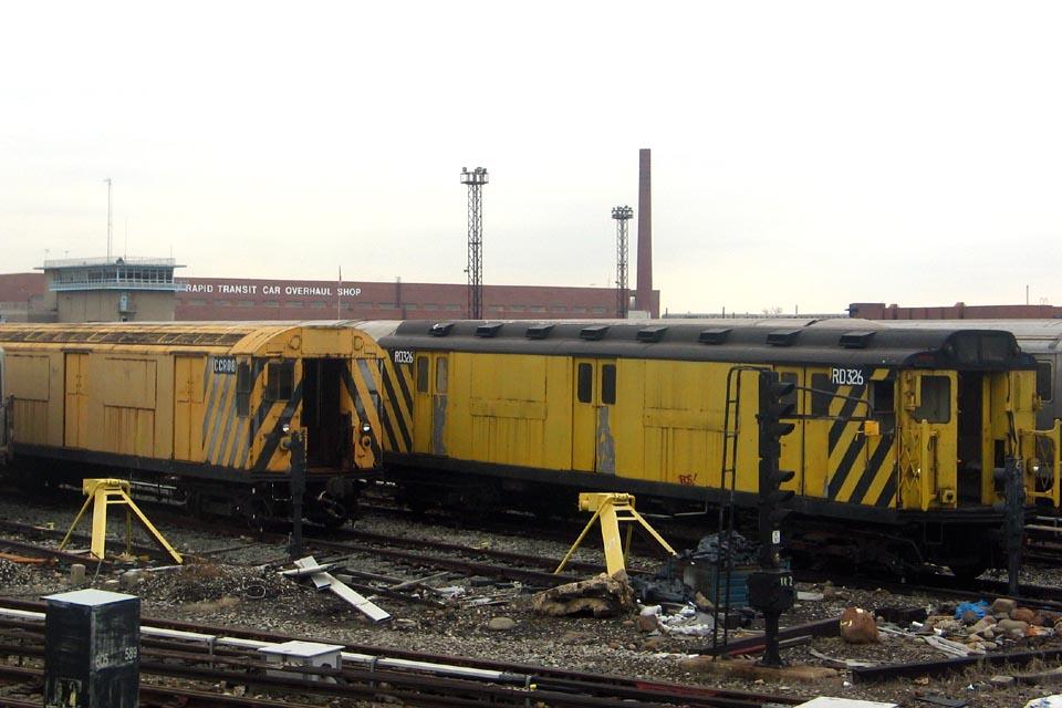 (109k, 960x640)<br><b>Country:</b> United States<br><b>City:</b> New York<br><b>System:</b> New York City Transit<br><b>Location:</b> Coney Island Yard<br><b>Car:</b> R-71 Rider Car (R-17/R-21/R-22 Rebuilds)  RD326 (ex-5831)<br><b>Photo by:</b> Michael Pompili<br><b>Date:</b> 4/3/2004<br><b>Viewed (this week/total):</b> 0 / 743