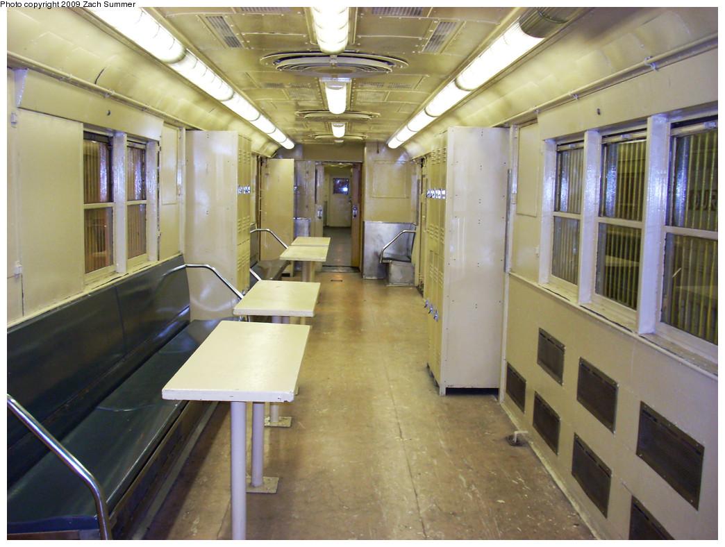(273k, 1044x788)<br><b>Country:</b> United States<br><b>City:</b> New York<br><b>System:</b> New York City Transit<br><b>Location:</b> New York Transit Museum<br><b>Car:</b> R-95 Locker Car (Revenue Train) 1R714 (ex-7422)<br><b>Photo by:</b> Zach Summer<br><b>Date:</b> 7/22/2008<br><b>Viewed (this week/total):</b> 2 / 4019
