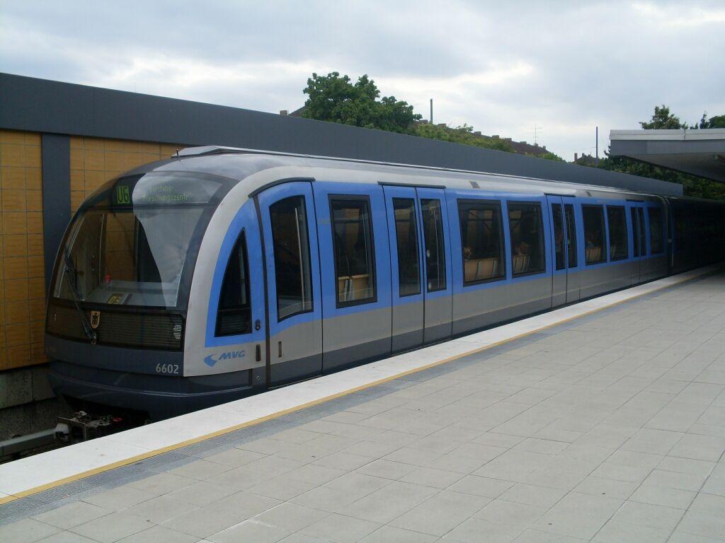 (81k, 1024x768)<br><b>Country:</b> Germany<br><b>City:</b> Munich<br><b>System:</b> München Verkehrsgesellschaft (MVG) <br><b>Line:</b> Munich U-Bahn U6<br><b>Location:</b> Studentenstadt <br><b>Route:</b> U6<br><b>Car:</b>  6602  <br><b>Photo by:</b> Jos Straathof<br><b>Date:</b> 8/14/2008<br><b>Viewed (this week/total):</b> 1 / 513