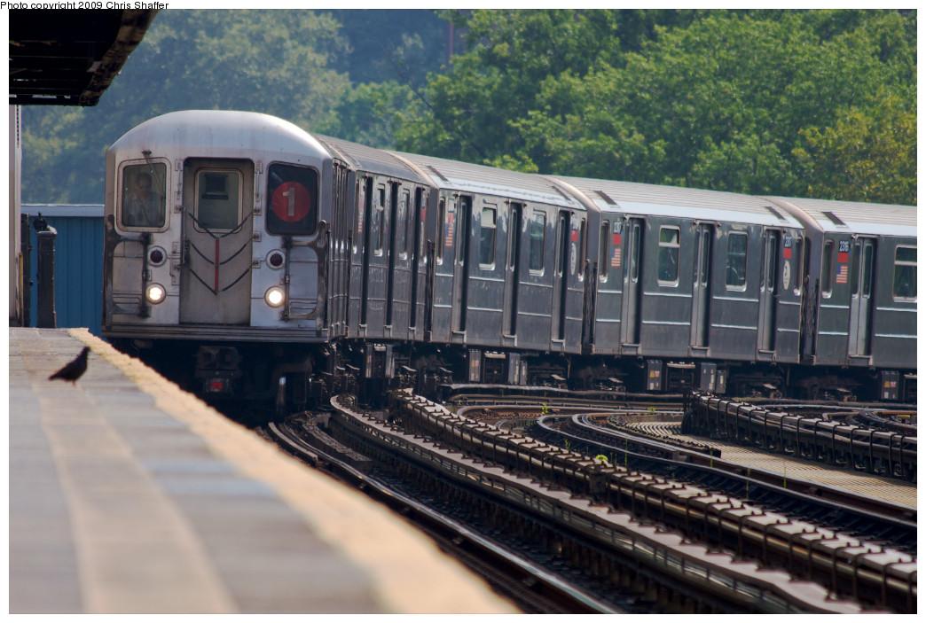 (241k, 1044x703)<br><b>Country:</b> United States<br><b>City:</b> New York<br><b>System:</b> New York City Transit<br><b>Line:</b> IRT West Side Line<br><b>Location:</b> 207th Street <br><b>Route:</b> 1<br><b>Car:</b> R-62A (Bombardier, 1984-1987)  2320 <br><b>Photo by:</b> Chris C. Shaffer<br><b>Date:</b> 8/2/2008<br><b>Viewed (this week/total):</b> 1 / 1113