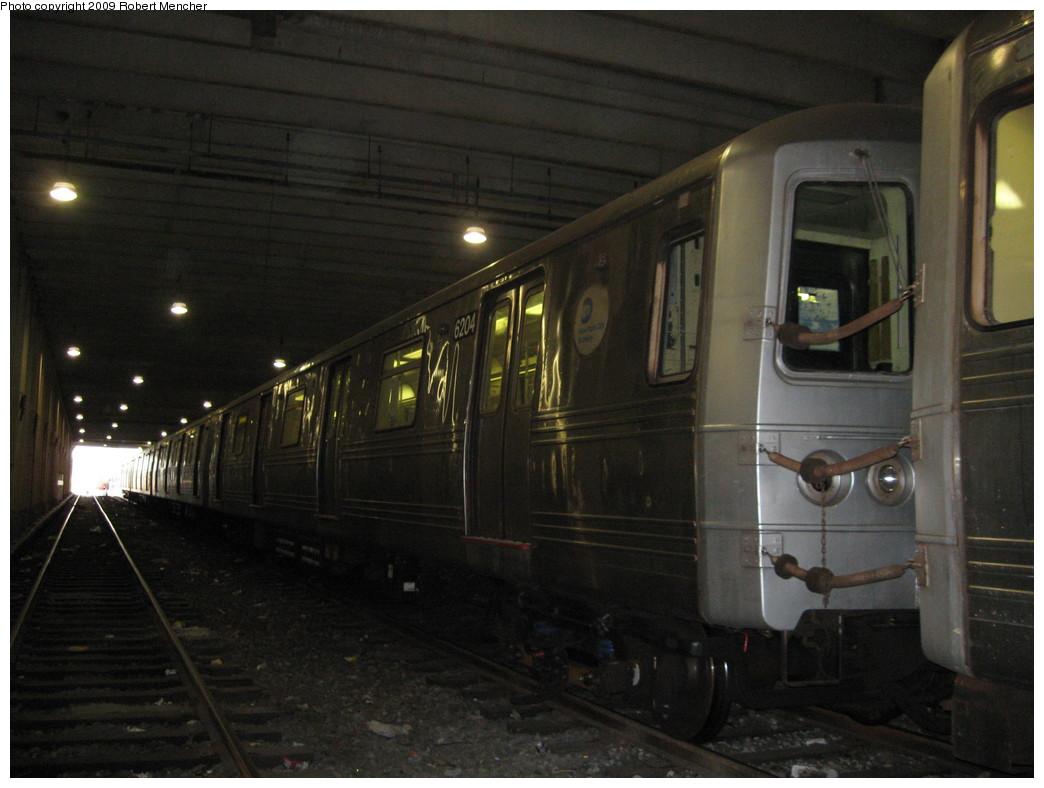 (183k, 1044x788)<br><b>Country:</b> United States<br><b>City:</b> New York<br><b>System:</b> New York City Transit<br><b>Location:</b> Pitkin Yard/Shops<br><b>Car:</b> R-46 (Pullman-Standard, 1974-75) 6204 <br><b>Photo by:</b> Robert Mencher<br><b>Date:</b> 5/23/2009<br><b>Viewed (this week/total):</b> 0 / 1416