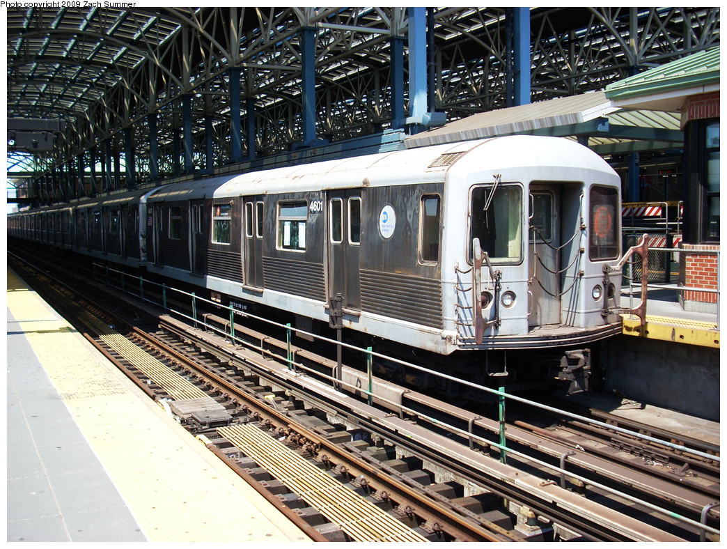 (400k, 1044x788)<br><b>Country:</b> United States<br><b>City:</b> New York<br><b>System:</b> New York City Transit<br><b>Location:</b> Coney Island/Stillwell Avenue<br><b>Route:</b> F<br><b>Car:</b> R-42 (St. Louis, 1969-1970)  4601 <br><b>Photo by:</b> Zach Summer<br><b>Date:</b> 5/31/2009<br><b>Viewed (this week/total):</b> 0 / 1417
