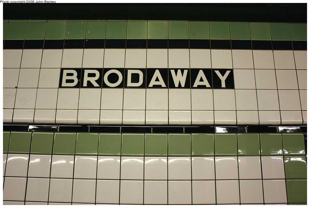 (144k, 1044x703)<br><b>Country:</b> United States<br><b>City:</b> New York<br><b>System:</b> New York City Transit<br><b>Line:</b> IND Crosstown Line<br><b>Location:</b> Broadway <br><b>Photo by:</b> John Barnes<br><b>Date:</b> 6/22/2009<br><b>Notes:</b> Misspelled name tablet<br><b>Viewed (this week/total):</b> 0 / 2511