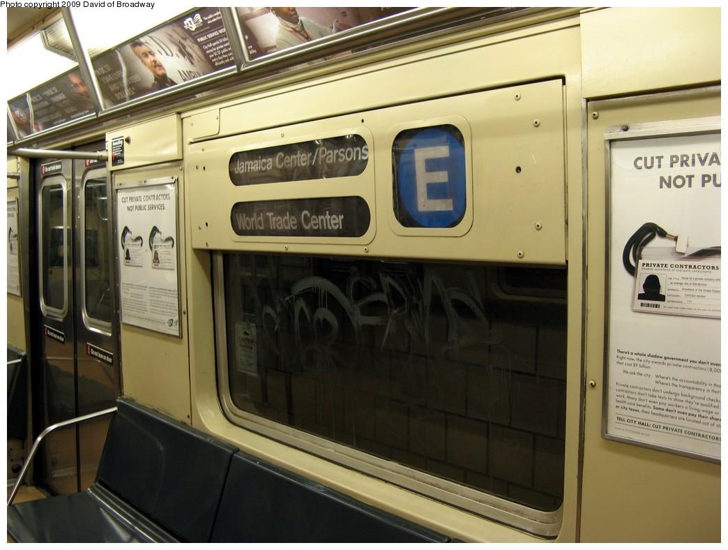 (188k, 1044x788)<br><b>Country:</b> United States<br><b>City:</b> New York<br><b>System:</b> New York City Transit<br><b>Route:</b> E<br><b>Car:</b> R-40M (St. Louis, 1969)  4489 <br><b>Photo by:</b> David of Broadway<br><b>Date:</b> 7/13/2009<br><b>Viewed (this week/total):</b> 0 / 1048