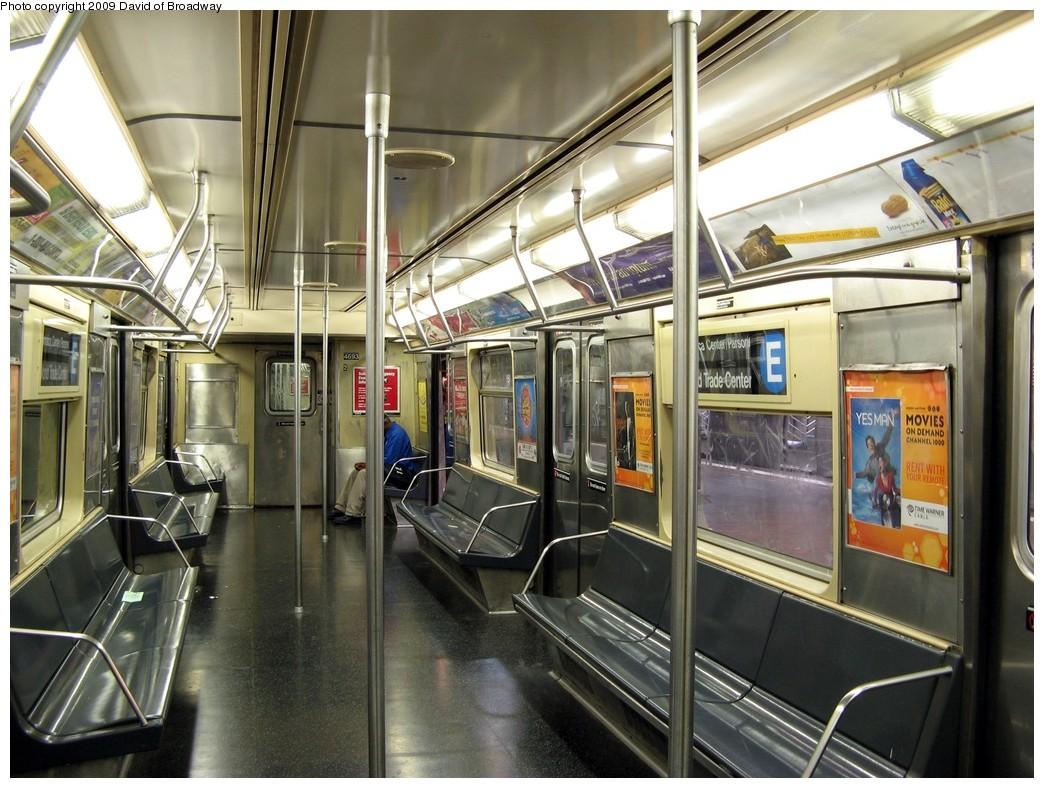 (237k, 1044x788)<br><b>Country:</b> United States<br><b>City:</b> New York<br><b>System:</b> New York City Transit<br><b>Route:</b> E<br><b>Car:</b> R-42 (St. Louis, 1969-1970)  4693 <br><b>Photo by:</b> David of Broadway<br><b>Date:</b> 7/13/2009<br><b>Viewed (this week/total):</b> 1 / 1167