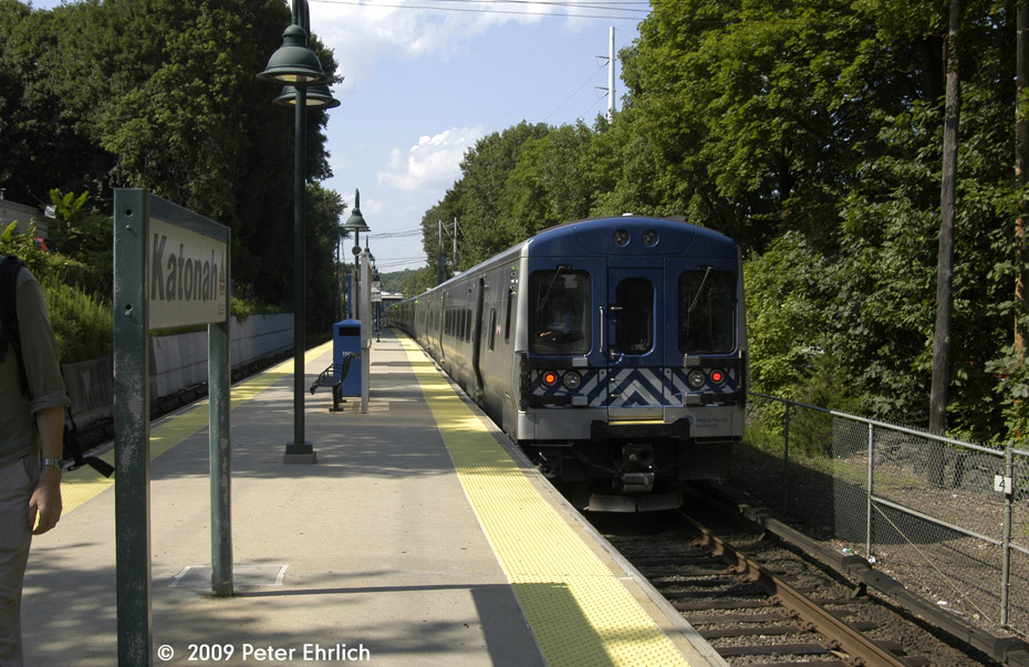 (246k, 930x603)<br><b>Country:</b> United States<br><b>System:</b> Metro-North Railroad (or Amtrak or Predecessor RR)<br><b>Line:</b> Metro North-Harlem Line<br><b>Location:</b> Katonah <br><b>Car:</b> MNRR M-7a EMU (Bombardier) 4130 <br><b>Photo by:</b> Peter Ehrlich<br><b>Date:</b> 8/1/2009<br><b>Notes:</b> Outbound<br><b>Viewed (this week/total):</b> 0 / 681