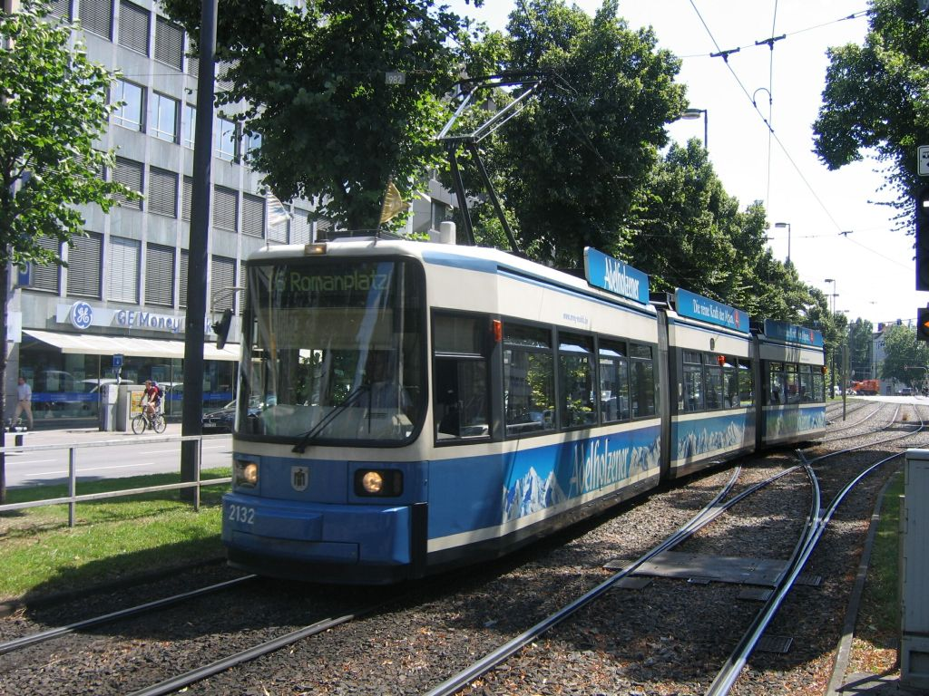 (207k, 1024x768)<br><b>Country:</b> Germany<br><b>City:</b> Munich<br><b>System:</b> MVG (Munchener Verkehrsgesellschaft)<br><b>Location:</b> Sonnenstrasse <br><b>Route:</b> 16<br><b>Car:</b> Siemens GT6N R2.2  2132  <br><b>Photo by:</b> Jos Straathof<br><b>Date:</b> 8/14/2008<br><b>Viewed (this week/total):</b> 0 / 335