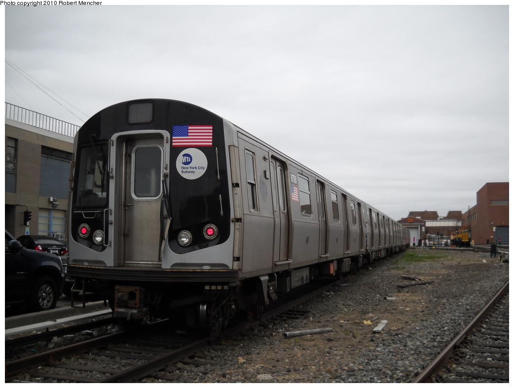 (192k, 1044x788)<br><b>Country:</b> United States<br><b>City:</b> New York<br><b>System:</b> New York City Transit<br><b>Location:</b> Coney Island Yard<br><b>Car:</b> R-160B (Kawasaki, 2005-2008)  8758 <br><b>Photo by:</b> Robert Mencher<br><b>Date:</b> 4/16/2010<br><b>Viewed (this week/total):</b> 0 / 757