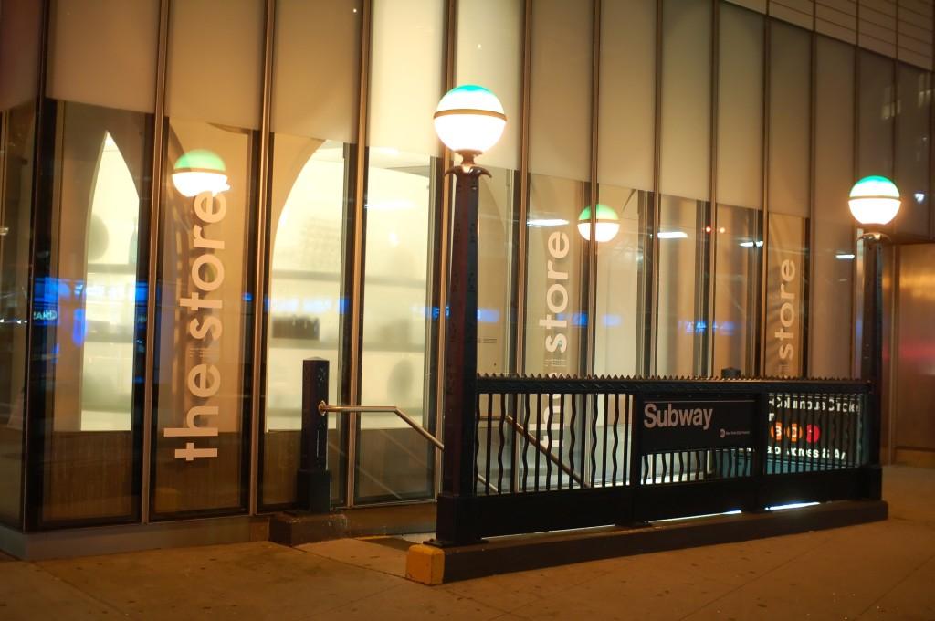 (192k, 1024x680)<br><b>Country:</b> United States<br><b>City:</b> New York<br><b>System:</b> New York City Transit<br><b>Line:</b> IND 8th Avenue Line<br><b>Location:</b> 59th Street/Columbus Circle <br><b>Photo by:</b> Brian Weinberg<br><b>Date:</b> 8/27/2009<br><b>Notes:</b> Station entrance at Time Warner Center.<br><b>Viewed (this week/total):</b> 0 / 1427
