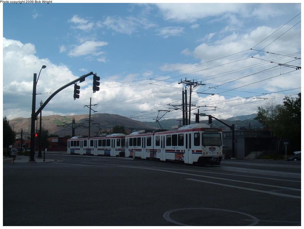 (176k, 1044x788)<br><b>Country:</b> United States<br><b>City:</b> Salt Lake City, UT<br><b>System:</b> TRAX<br><b>Location:</b> Salt Lake Central <br><b>Photo by:</b> Bob Wright<br><b>Date:</b> 6/9/2009<br><b>Viewed (this week/total):</b> 2 / 1595