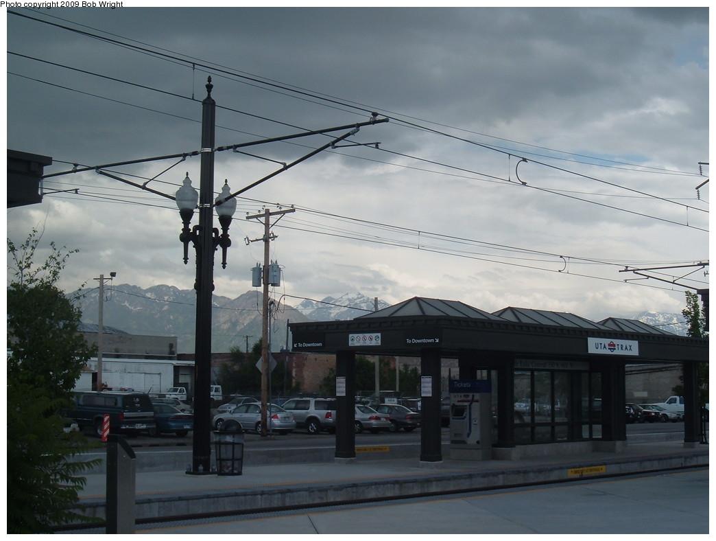 (180k, 1044x788)<br><b>Country:</b> United States<br><b>City:</b> Salt Lake City, UT<br><b>System:</b> TRAX<br><b>Location:</b> Salt Lake Central <br><b>Photo by:</b> Bob Wright<br><b>Date:</b> 6/9/2009<br><b>Viewed (this week/total):</b> 0 / 1281