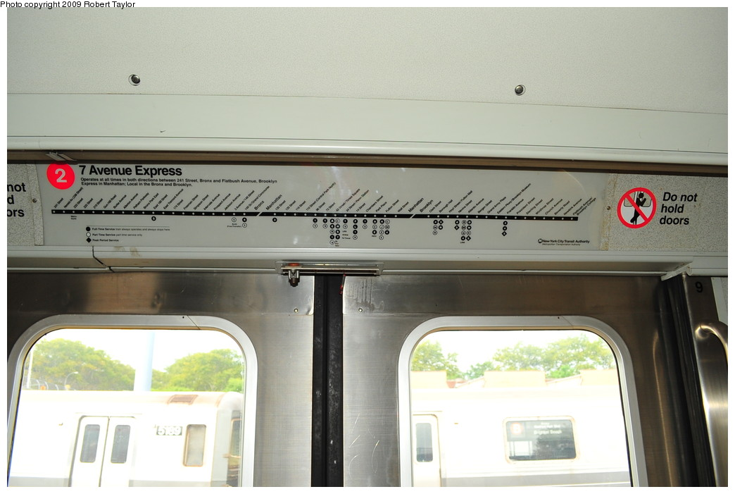 (212k, 1044x701)<br><b>Country:</b> United States<br><b>City:</b> New York<br><b>System:</b> New York City Transit<br><b>Car:</b> R-110A (Kawasaki, 1992) 8002 <br><b>Photo by:</b> Robert Taylor<br><b>Date:</b> 9/23/2009<br><b>Viewed (this week/total):</b> 5 / 4568