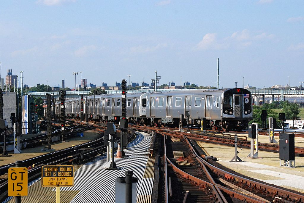 (161k, 1024x686)<br><b>Country:</b> United States<br><b>City:</b> New York<br><b>System:</b> New York City Transit<br><b>Location:</b> Coney Island/Stillwell Avenue<br><b>Route:</b> N<br><b>Car:</b> R-160A/R-160B Series (Number Unknown)  <br><b>Photo by:</b> Richard Chase<br><b>Date:</b> 8/30/2009<br><b>Viewed (this week/total):</b> 0 / 1246
