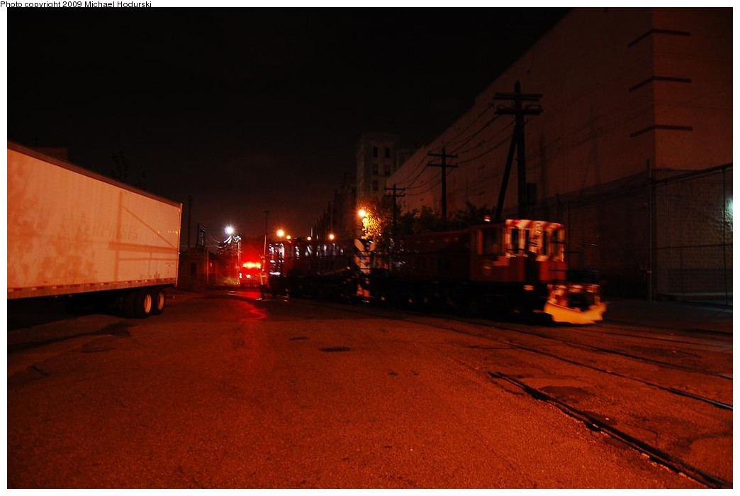 (158k, 1044x699)<br><b>Country:</b> United States<br><b>City:</b> New York<br><b>System:</b> New York City Transit<br><b>Line:</b> South Brooklyn Railway<br><b>Location:</b> 2nd Avenue (SBK)<br><b>Route:</b> Work Service<br><b>Car:</b> R-47 (SBK) Locomotive  N1 <br><b>Photo by:</b> Michael Hodurski<br><b>Date:</b> 9/29/2008<br><b>Viewed (this week/total):</b> 2 / 1193