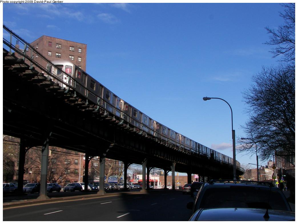 (258k, 1044x788)<br><b>Country:</b> United States<br><b>City:</b> New York<br><b>System:</b> New York City Transit<br><b>Line:</b> IRT West Side Line<br><b>Location:</b> 225th Street <br><b>Photo by:</b> David-Paul Gerber<br><b>Date:</b> 11/28/2009<br><b>Notes:</b> On Broadway near West 228th Street<br><b>Viewed (this week/total):</b> 2 / 965