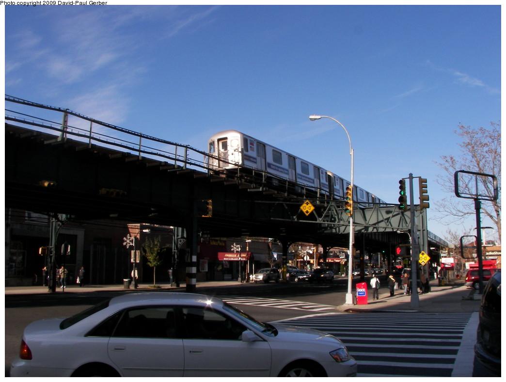 (236k, 1044x788)<br><b>Country:</b> United States<br><b>City:</b> New York<br><b>System:</b> New York City Transit<br><b>Line:</b> IRT West Side Line<br><b>Location:</b> 231st Street <br><b>Photo by:</b> David-Paul Gerber<br><b>Date:</b> 11/28/2009<br><b>Notes:</b> Intersection of West 230th Street and Broadway<br><b>Viewed (this week/total):</b> 0 / 1102