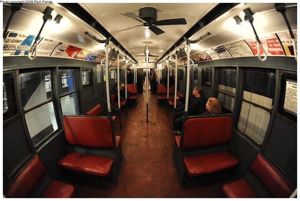 (176k, 1044x701)<br><b>Country:</b> United States<br><b>City:</b> New York<br><b>System:</b> New York City Transit<br><b>Route:</b> Museum Train Service (V)<br><b>Car:</b> R-6-1 (Pressed Steel, 1936)  1300 <br><b>Photo by:</b> Richard Panse<br><b>Date:</b> 12/13/2009<br><b>Viewed (this week/total):</b> 0 / 847