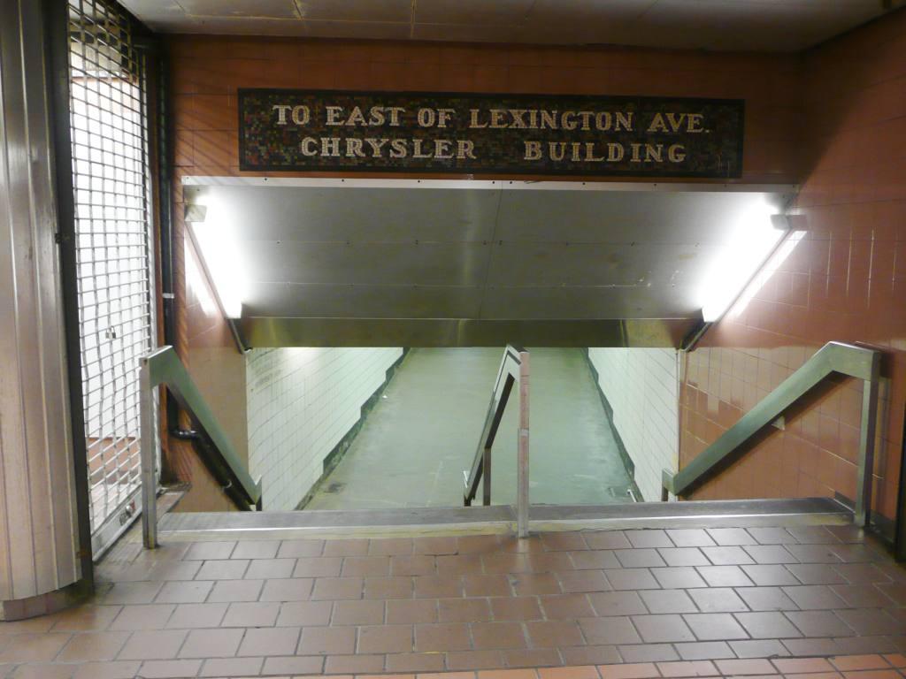 (84k, 1024x768)<br><b>Country:</b> United States<br><b>City:</b> New York<br><b>System:</b> New York City Transit<br><b>Line:</b> IRT East Side Line<br><b>Location:</b> Grand Central <br><b>Photo by:</b> Robbie Rosenfeld<br><b>Date:</b> 12/8/2009<br><b>Notes:</b> To Chrysler Building mosaic<br><b>Viewed (this week/total):</b> 0 / 1253