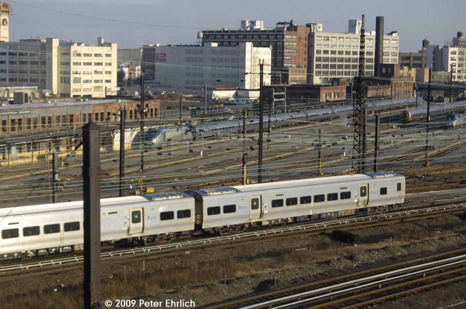 (222k, 930x618)<br><b>Country:</b> United States<br><b>City:</b> New York<br><b>System:</b> Long Island Rail Road<br><b>Location:</b> LIRR Sunnyside Yard<br><b>Car:</b> LIRR M-7 EMU (Bombardier)  <br><b>Photo by:</b> Peter Ehrlich<br><b>Date:</b> 12/6/2009<br><b>Notes:</b> Inbound<br><b>Viewed (this week/total):</b> 4 / 1206