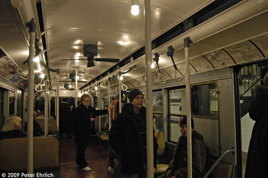 (196k, 930x618)<br><b>Country:</b> United States<br><b>City:</b> New York<br><b>System:</b> New York City Transit<br><b>Car:</b> R-6-3 (American Car & Foundry, 1935)  1000 <br><b>Photo by:</b> Peter Ehrlich<br><b>Date:</b> 12/13/2009<br><b>Viewed (this week/total):</b> 0 / 1020