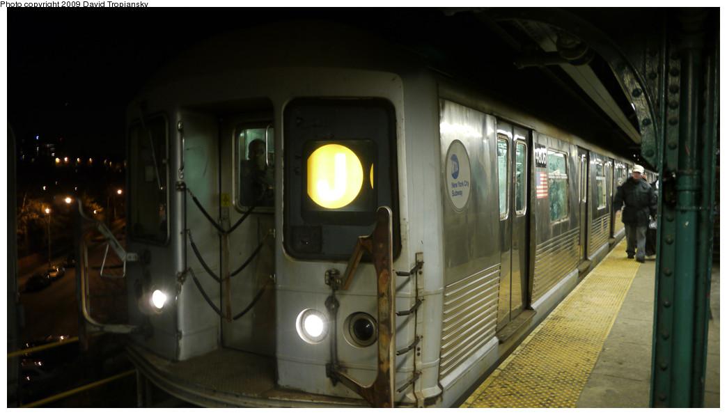 (171k, 1044x596)<br><b>Country:</b> United States<br><b>City:</b> New York<br><b>System:</b> New York City Transit<br><b>Line:</b> BMT Nassau Street/Jamaica Line<br><b>Location:</b> Broadway/East New York (Broadway Junction) <br><b>Route:</b> J<br><b>Car:</b> R-42 (St. Louis, 1969-1970)  4806 <br><b>Photo by:</b> David Tropiansky<br><b>Date:</b> 12/27/2009<br><b>Viewed (this week/total):</b> 0 / 860