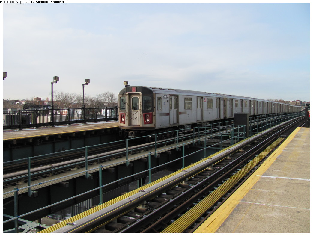 (204k, 1044x788)<br><b>Country:</b> United States<br><b>City:</b> New York<br><b>System:</b> New York City Transit<br><b>Line:</b> IRT Brooklyn Line<br><b>Location:</b> Van Siclen Avenue <br><b>Route:</b> 4<br><b>Car:</b> R-142 (Option Order, Bombardier, 2002-2003)  7081 <br><b>Photo by:</b> Aliandro Brathwaite<br><b>Date:</b> 1/2/2010<br><b>Viewed (this week/total):</b> 0 / 1344