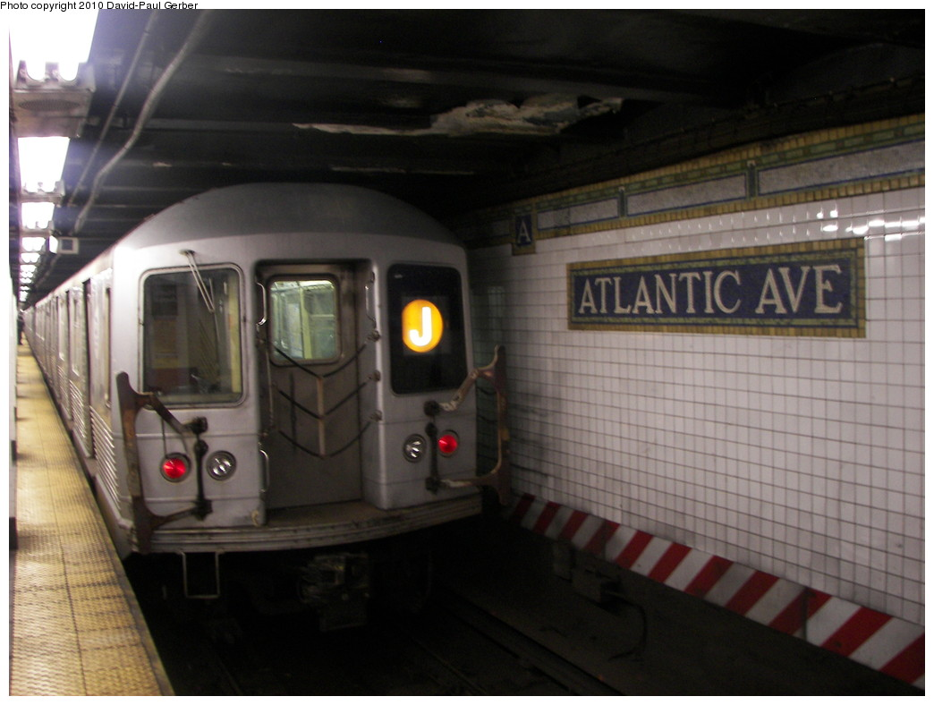 (223k, 1044x788)<br><b>Country:</b> United States<br><b>City:</b> New York<br><b>System:</b> New York City Transit<br><b>Line:</b> BMT Brighton Line<br><b>Location:</b> Atlantic Avenue <br><b>Route:</b> J<br><b>Car:</b> R-42 (St. Louis, 1969-1970)  4837 <br><b>Photo by:</b> David-Paul Gerber<br><b>Date:</b> 1/17/2010<br><b>Viewed (this week/total):</b> 0 / 1594