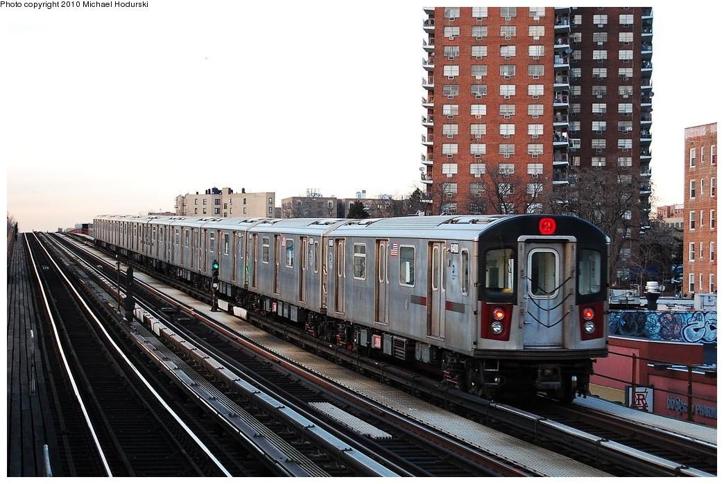 (265k, 1044x699)<br><b>Country:</b> United States<br><b>City:</b> New York<br><b>System:</b> New York City Transit<br><b>Line:</b> IRT White Plains Road Line<br><b>Location:</b> Pelham Parkway <br><b>Route:</b> 2<br><b>Car:</b> R-142 (Primary Order, Bombardier, 1999-2002)  6400 <br><b>Photo by:</b> Michael Hodurski<br><b>Date:</b> 3/24/2009<br><b>Viewed (this week/total):</b> 4 / 1004