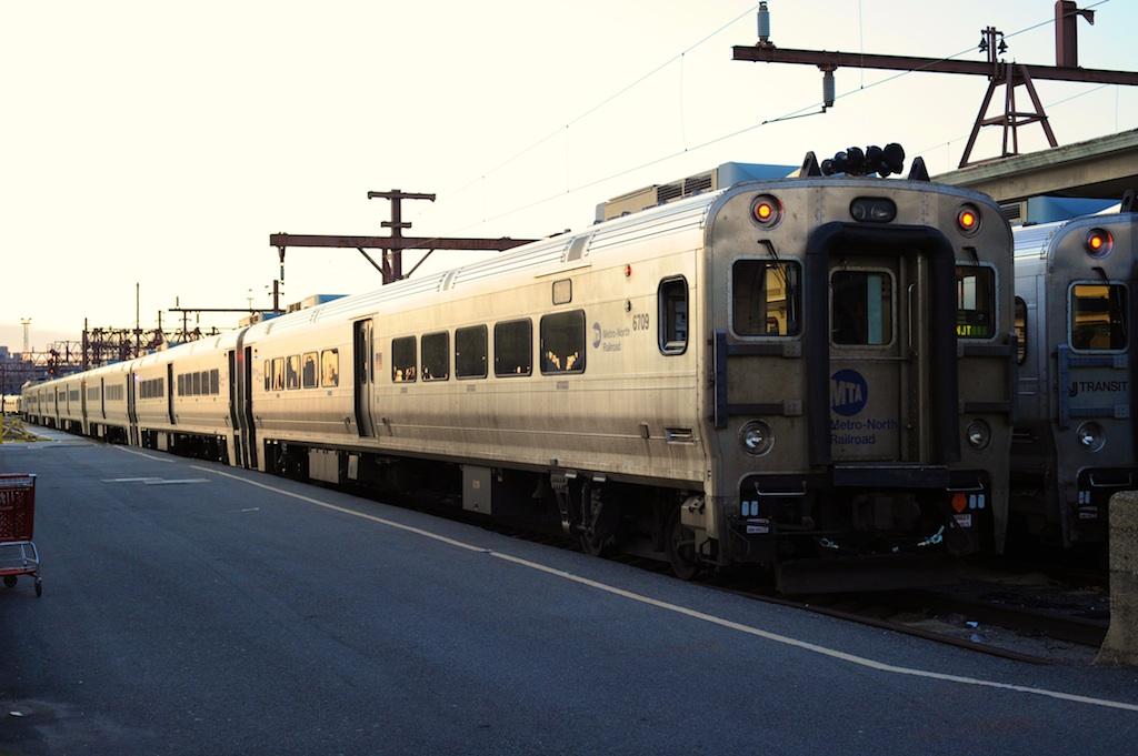 (191k, 1024x681)<br><b>Country:</b> United States<br><b>City:</b> Hoboken, NJ<br><b>System:</b> NJ Transit (or Predecessor)<br><b>Location:</b> Hoboken Terminal <br><b>Car:</b> MNRR Comet V 6709 <br><b>Photo by:</b> Richard Panse<br><b>Date:</b> 12/17/2009<br><b>Viewed (this week/total):</b> 0 / 1043