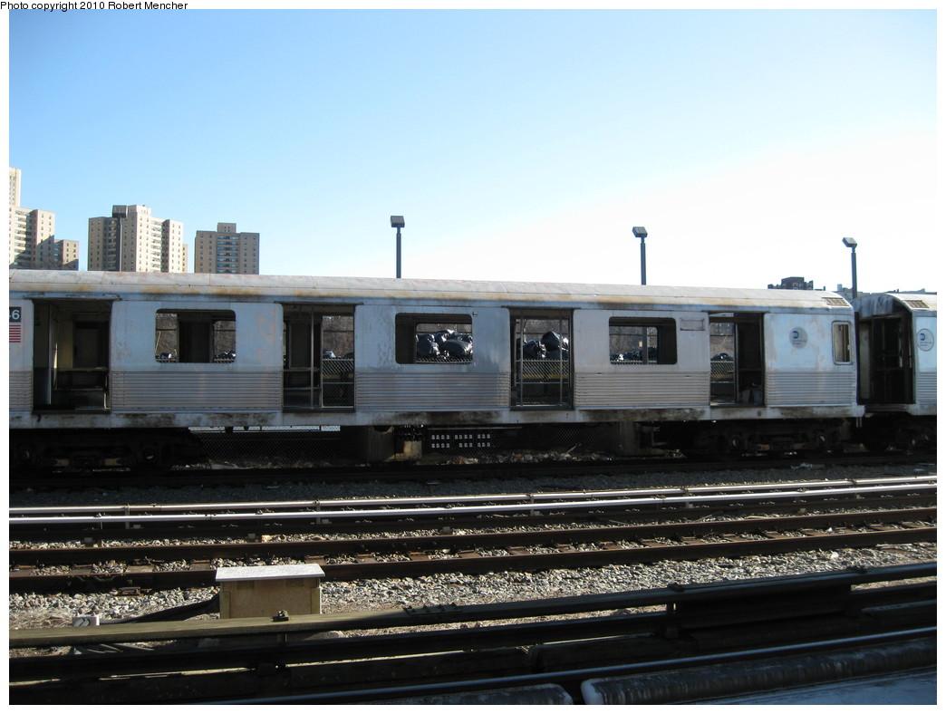 (191k, 1044x788)<br><b>Country:</b> United States<br><b>City:</b> New York<br><b>System:</b> New York City Transit<br><b>Location:</b> 207th Street Yard<br><b>Car:</b> R-42 (St. Louis, 1969-1970)  4746 <br><b>Photo by:</b> Robert Mencher<br><b>Date:</b> 1/18/2010<br><b>Notes:</b> Scrap<br><b>Viewed (this week/total):</b> 0 / 702