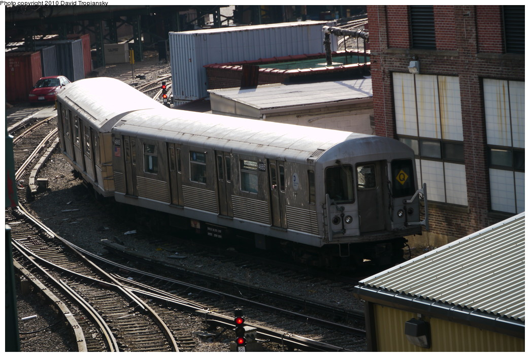 (240k, 1044x703)<br><b>Country:</b> United States<br><b>City:</b> New York<br><b>System:</b> New York City Transit<br><b>Location:</b> Coney Island Yard<br><b>Car:</b> R-42 (St. Louis, 1969-1970)  4665 <br><b>Photo by:</b> David Tropiansky<br><b>Date:</b> 1/27/2010<br><b>Viewed (this week/total):</b> 1 / 1304