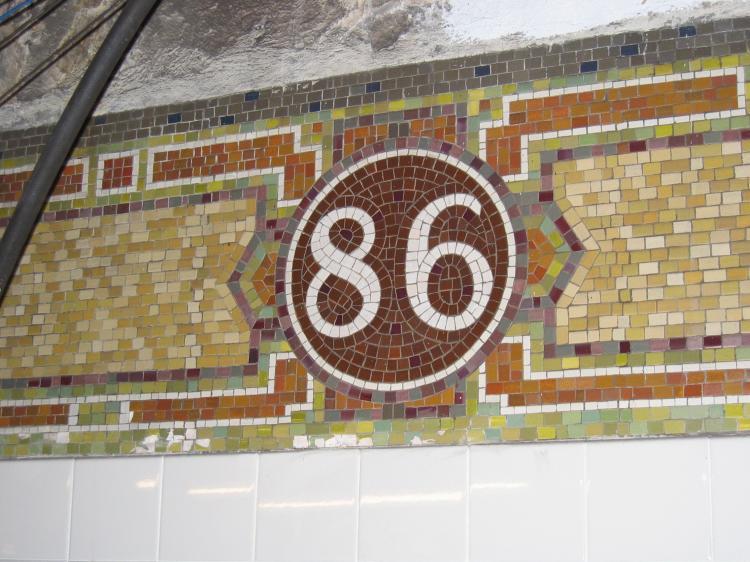 (82k, 750x562)<br><b>Country:</b> United States<br><b>City:</b> New York<br><b>System:</b> New York City Transit<br><b>Line:</b> IRT East Side Line<br><b>Location:</b> 86th Street <br><b>Photo by:</b> Robbie Rosenfeld<br><b>Date:</b> 3/1/2005<br><b>Viewed (this week/total):</b> 3 / 2965