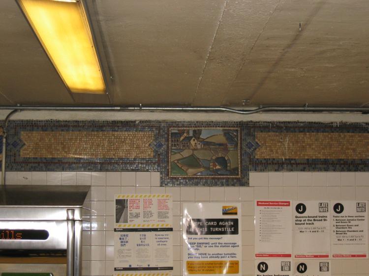 (60k, 750x562)<br><b>Country:</b> United States<br><b>City:</b> New York<br><b>System:</b> New York City Transit<br><b>Line:</b> BMT Broadway Line<br><b>Location:</b> Canal Street <br><b>Photo by:</b> Robbie Rosenfeld<br><b>Date:</b> 3/10/2005<br><b>Viewed (this week/total):</b> 2 / 3078