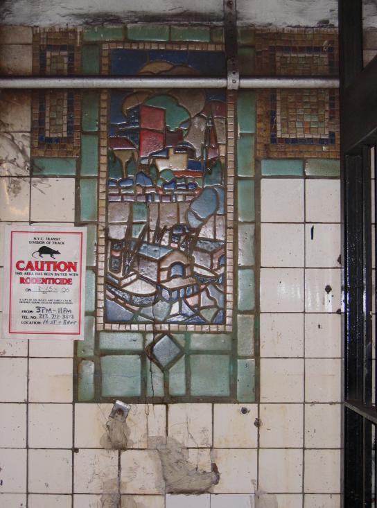 (73k, 544x733)<br><b>Country:</b> United States<br><b>City:</b> New York<br><b>System:</b> New York City Transit<br><b>Line:</b> IRT Brooklyn Line<br><b>Location:</b> Clark Street <br><b>Photo by:</b> Robbie Rosenfeld<br><b>Date:</b> 3/21/2005<br><b>Viewed (this week/total):</b> 0 / 3124