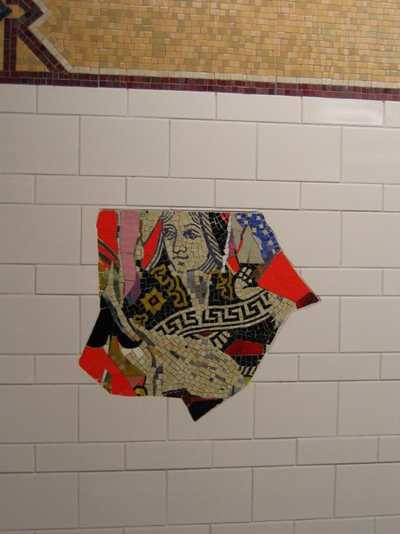 (51k, 562x750)<br><b>Country:</b> United States<br><b>City:</b> New York<br><b>System:</b> New York City Transit<br><b>Location:</b> DeKalb Avenue<br><b>Photo by:</b> Robbie Rosenfeld<br><b>Date:</b> 3/16/2005<br><b>Artwork:</b> <i>DeKalb Improvisation</i>, Stephen T. Johnson (2004).<br><b>Viewed (this week/total):</b> 0 / 3406