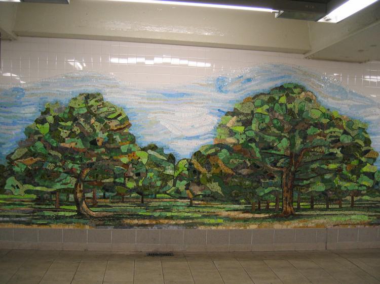 (73k, 750x562)<br><b>Country:</b> United States<br><b>City:</b> New York<br><b>System:</b> New York City Transit<br><b>Line:</b> IND 6th Avenue Line<br><b>Location:</b> Delancey Street <br><b>Photo by:</b> Robbie Rosenfeld<br><b>Date:</b> 3/14/2005<br><b>Artwork:</b> <i>Delancey Orchard</i>, Ming Fay (2004).<br><b>Viewed (this week/total):</b> 4 / 3310