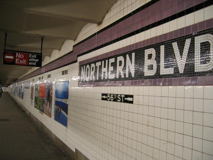 (69k, 750x562)<br><b>Country:</b> United States<br><b>City:</b> New York<br><b>System:</b> New York City Transit<br><b>Line:</b> IND Queens Boulevard Line<br><b>Location:</b> Northern Boulevard <br><b>Photo by:</b> Robbie Rosenfeld<br><b>Date:</b> 4/5/2005<br><b>Viewed (this week/total):</b> 0 / 2955