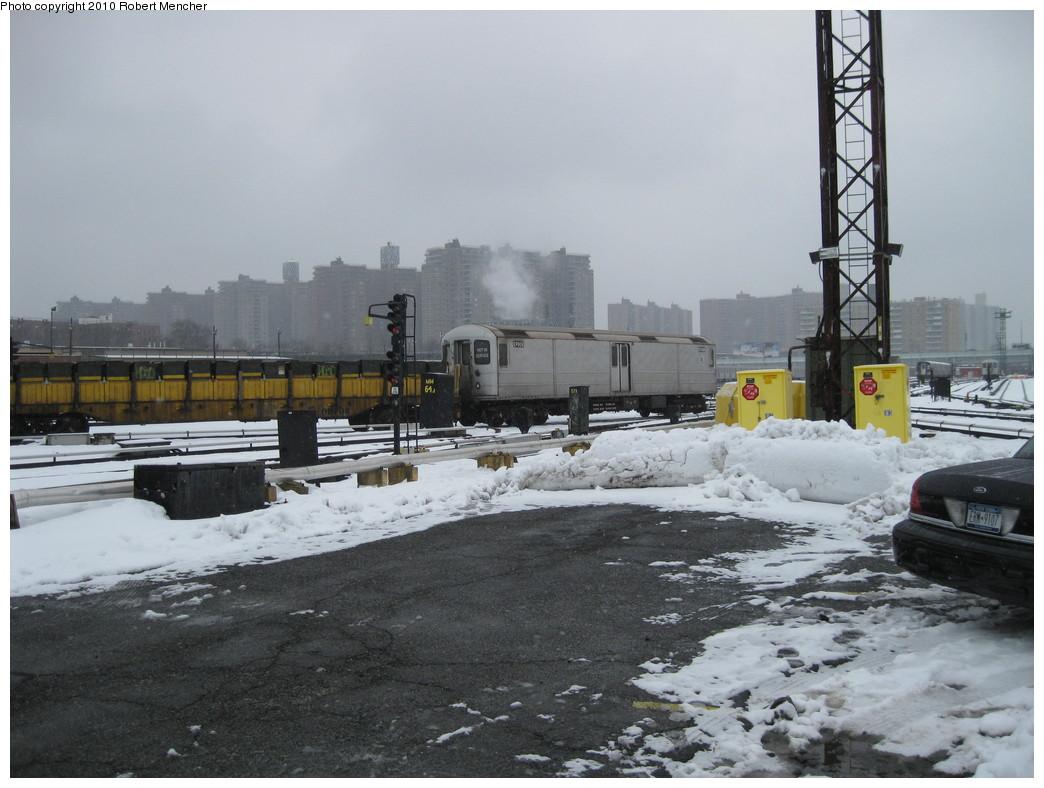 (198k, 1044x788)<br><b>Country:</b> United States<br><b>City:</b> New York<br><b>System:</b> New York City Transit<br><b>Location:</b> Coney Island Yard<br><b>Car:</b> R-127/R-134 (Kawasaki, 1991-1996) EP009 <br><b>Photo by:</b> Robert Mencher<br><b>Date:</b> 2/16/2010<br><b>Viewed (this week/total):</b> 0 / 814
