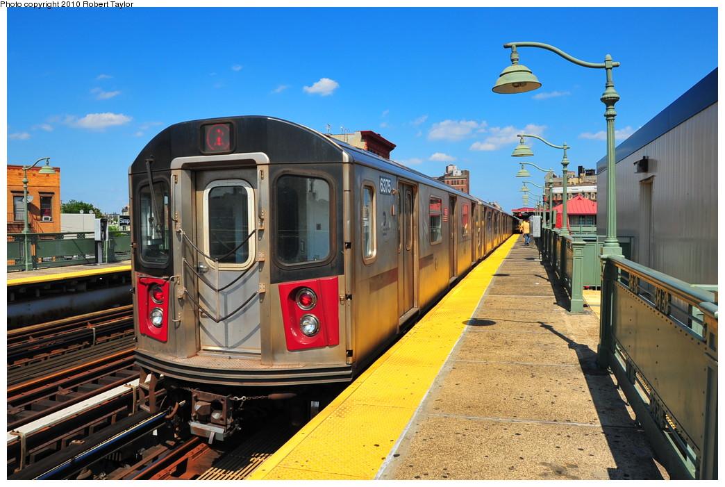 (287k, 1044x701)<br><b>Country:</b> United States<br><b>City:</b> New York<br><b>System:</b> New York City Transit<br><b>Line:</b> IRT White Plains Road Line<br><b>Location:</b> Simpson Street <br><b>Route:</b> 2<br><b>Car:</b> R-142 (Primary Order, Bombardier, 1999-2002)  6375 <br><b>Photo by:</b> Robert Taylor<br><b>Date:</b> 8/30/2009<br><b>Viewed (this week/total):</b> 2 / 1422