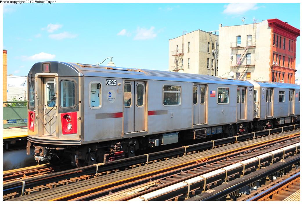 (301k, 1044x701)<br><b>Country:</b> United States<br><b>City:</b> New York<br><b>System:</b> New York City Transit<br><b>Line:</b> IRT White Plains Road Line<br><b>Location:</b> Simpson Street <br><b>Route:</b> 2<br><b>Car:</b> R-142 (Primary Order, Bombardier, 1999-2002)  6625 <br><b>Photo by:</b> Robert Taylor<br><b>Date:</b> 8/30/2009<br><b>Viewed (this week/total):</b> 2 / 1524