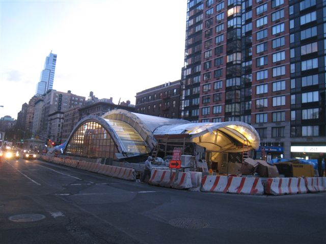 (56k, 640x480)<br><b>Country:</b> United States<br><b>City:</b> New York<br><b>System:</b> New York City Transit<br><b>Line:</b> IRT West Side Line<br><b>Location:</b> 96th Street<br><b>Photo by:</b> David Blair<br><b>Date:</b> 2/20/2010<br><b>Notes:</b> Station renovation.<br><b>Viewed (this week/total):</b> 1 / 1158