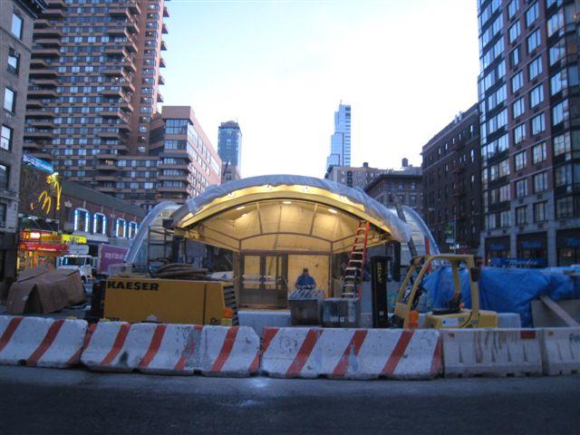 (63k, 640x480)<br><b>Country:</b> United States<br><b>City:</b> New York<br><b>System:</b> New York City Transit<br><b>Line:</b> IRT West Side Line<br><b>Location:</b> 96th Street <br><b>Photo by:</b> David Blair<br><b>Date:</b> 2/20/2010<br><b>Notes:</b> Station renovation.<br><b>Viewed (this week/total):</b> 1 / 823
