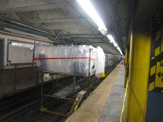 (48k, 640x480)<br><b>Country:</b> United States<br><b>City:</b> New York<br><b>System:</b> New York City Transit<br><b>Line:</b> IRT West Side Line<br><b>Location:</b> 96th Street<br><b>Photo by:</b> David Blair<br><b>Date:</b> 2/20/2010<br><b>Notes:</b> Station renovation.<br><b>Viewed (this week/total):</b> 1 / 1373