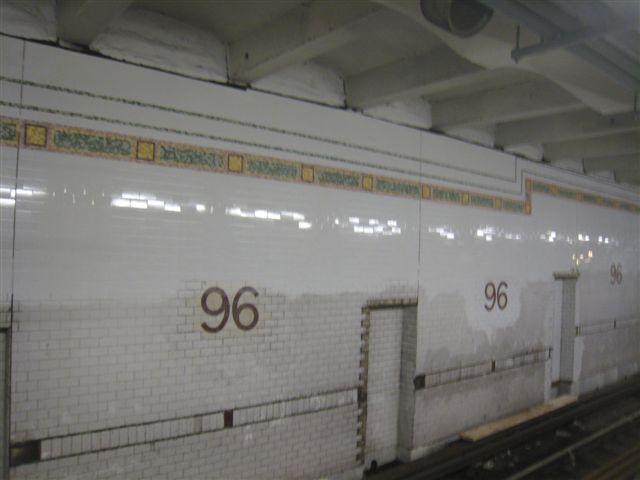 (35k, 640x480)<br><b>Country:</b> United States<br><b>City:</b> New York<br><b>System:</b> New York City Transit<br><b>Line:</b> IRT West Side Line<br><b>Location:</b> 96th Street <br><b>Photo by:</b> David Blair<br><b>Date:</b> 2/21/2010<br><b>Notes:</b> Station renovation.<br><b>Viewed (this week/total):</b> 0 / 851