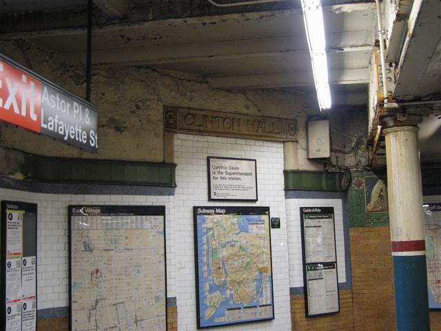 (58k, 640x480)<br><b>Country:</b> United States<br><b>City:</b> New York<br><b>System:</b> New York City Transit<br><b>Line:</b> IRT East Side Line<br><b>Location:</b> Astor Place <br><b>Photo by:</b> David Blair<br><b>Date:</b> 3/7/2007<br><b>Notes:</b> Downtown side.<br><b>Viewed (this week/total):</b> 0 / 860