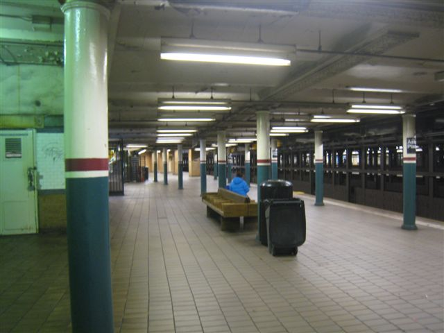 (45k, 640x480)<br><b>Country:</b> United States<br><b>City:</b> New York<br><b>System:</b> New York City Transit<br><b>Line:</b> IRT East Side Line<br><b>Location:</b> Astor Place <br><b>Photo by:</b> David Blair<br><b>Date:</b> 2/21/2010<br><b>Notes:</b> Downtown side.<br><b>Viewed (this week/total):</b> 1 / 1189