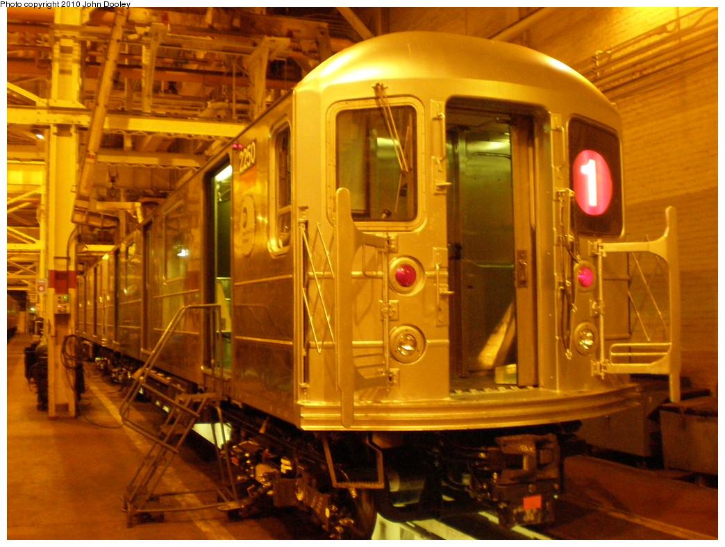 (255k, 1044x788)<br><b>Country:</b> United States<br><b>City:</b> New York<br><b>System:</b> New York City Transit<br><b>Location:</b> Coney Island Shop/Overhaul & Repair Shop<br><b>Car:</b> R-62A (Bombardier, 1984-1987)  2250 <br><b>Photo by:</b> John Dooley<br><b>Date:</b> 3/14/2010<br><b>Viewed (this week/total):</b> 4 / 2343
