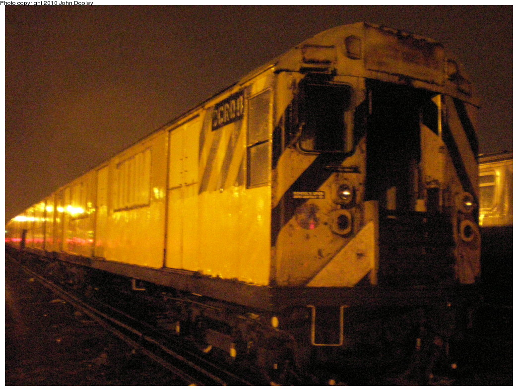 (259k, 1044x788)<br><b>Country:</b> United States<br><b>City:</b> New York<br><b>System:</b> New York City Transit<br><b>Location:</b> Coney Island Yard<br><b>Car:</b> R-123 Continuous Welded Rail Handler (R17/R21/R22 Rebuilds) CCR08 <br><b>Photo by:</b> John Dooley<br><b>Date:</b> 3/14/2010<br><b>Viewed (this week/total):</b> 5 / 1390