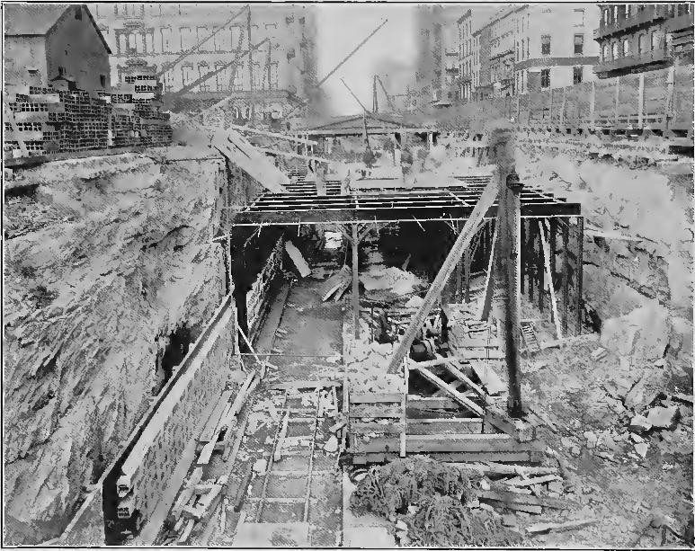 (175k, 773x613)<br><b>Country:</b> United States<br><b>City:</b> New York<br><b>System:</b> New York City Transit<br><b>Line:</b> IRT (Early Views of Construction)<br><b>Collection of:</b> Board of Rapid Transit Railroad Commissioners - File Photo<br><b>Date:</b> 1901<br><b>Notes:</b> Cut in Fourth Avenue, East Side of Union Square (Report of the Board, 1901)<br><b>Viewed (this week/total):</b> 0 / 1641