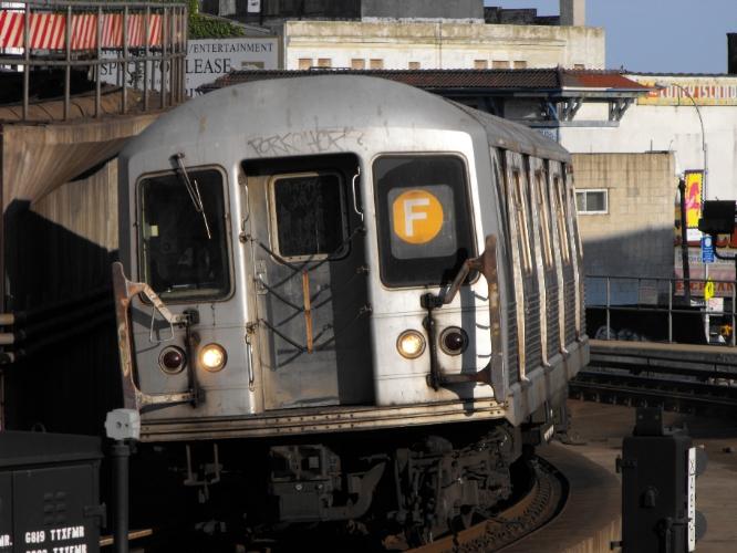 (261k, 666x500)<br><b>Country:</b> United States<br><b>City:</b> New York<br><b>System:</b> New York City Transit<br><b>Location:</b> Coney Island/Stillwell Avenue<br><b>Route:</b> F<br><b>Car:</b> R-42 (St. Louis, 1969-1970)   <br><b>Photo by:</b> John Dooley<br><b>Date:</b> 2009<br><b>Viewed (this week/total):</b> 0 / 1168
